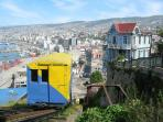 Viña del Mar & Valparaiso, easy to visit during the day, only 90 min away
