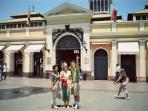 Mercado Central, a place to enjoy traditional Chilean food