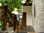 Entry to Villa Tanaro