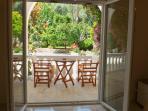 Ground floor garden view suite