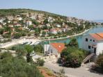 View from balcony, bay of Mavar?ica