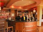 The superb cafe bar Hugo Beaty