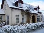 Dalcraig House in winter