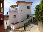 The traditional house was built for a builder from Albuñuelas,
