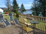 Relax on the extensive furnished decking  or even have a BBQ which is waiting for you in the shed