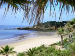 Santa Eulalia, this is a truly beautiful small beach about a 15 minute walk