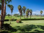 jardines comunidad al campo de golf