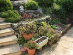 Front rockery garden