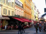 Pedestrian area rue Massena