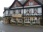 The Old Poets Corner is a CAMRA pub of the year, great for real ale and its 150yds from the cottage