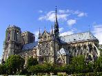 Cathedrale Notre Dame 15 min a pied / walking distance