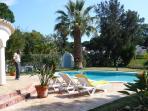 Villa Nuala terrace and pool