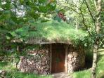 Nestled in our young woodland you will discover our magical roundhouse