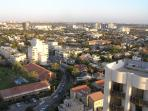 Unobstructed views of Herzlyia Pituach & Tel Aviv skyline from the flat