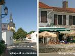 In the village of La Jonchere. Near to the village of Angles (shops, restaurants)