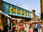 The apartment is a 10-min walk away from the popular and trendy Camden Market