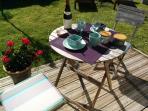 Manger dehors : profitez de l air pur du Finistère...