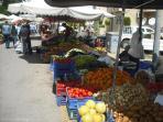 Enjoy the large Saturday market