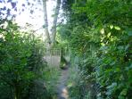 Pathway to garden