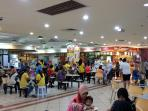 Food court on the 3rd. floor of Langkawi Parade MegaMall