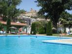 Outdoor pool at Alcala la Real