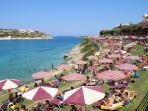 Loutraki Beach - 15min