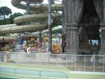 Visit the water park or the must see dolphin show