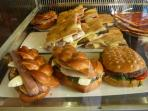 You'l Be Spoilt for Choice When Deciding which Panino to Eat. Local Shops are Cheaper than Cent