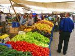 Thursday's market