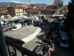 Piazza Capucci or Piazza del Mercato holds the main Mercato di Stresa every Friday morning