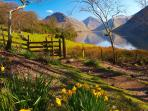 Nearby Wastwater Lake in Spring