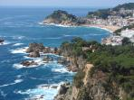 The stunning Costa Brava, one of Spain's premier tourist sites