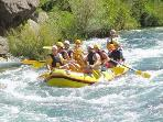 Rafting on Catina river, Omiš