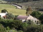 The Dome House photographed from further up our hill