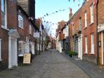 The Cobbled Streets of nearby Petworth