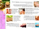 Diferentes  tipos de masajes  y terapias alternativas en nuestra seccion de Wellnes, por personas cu