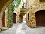 Pals medieval village. - SA PUNTA COSTA BRAVA