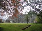 Highland Club in autumn