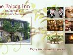 The 16th century Falcon Inn St Mawgan within a 5 minute walk from Little Ramwood