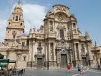 Catedral de Santa Maria - the cathedral in Murcia