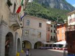 Riva old town centre