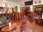 The Gladstone bar area newly refurbished. Offering a warm welcome with great food & drink.