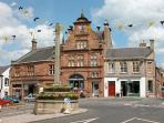 Melrose Town Square - just 15 minute walk from the Cottage