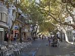Marquis de campo  ( main street in Denia )