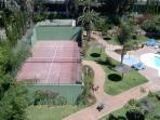 Tennis courts in Medina Garden