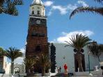 Historic city of Teguise - sleepy on week days bustling on Sundays when the market is in full swing