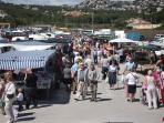 Market day in Moraira
