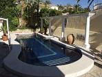 Swimming pool and sun terraces