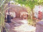 Mediterranean style BBQ terrace