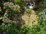 Stone walled garden